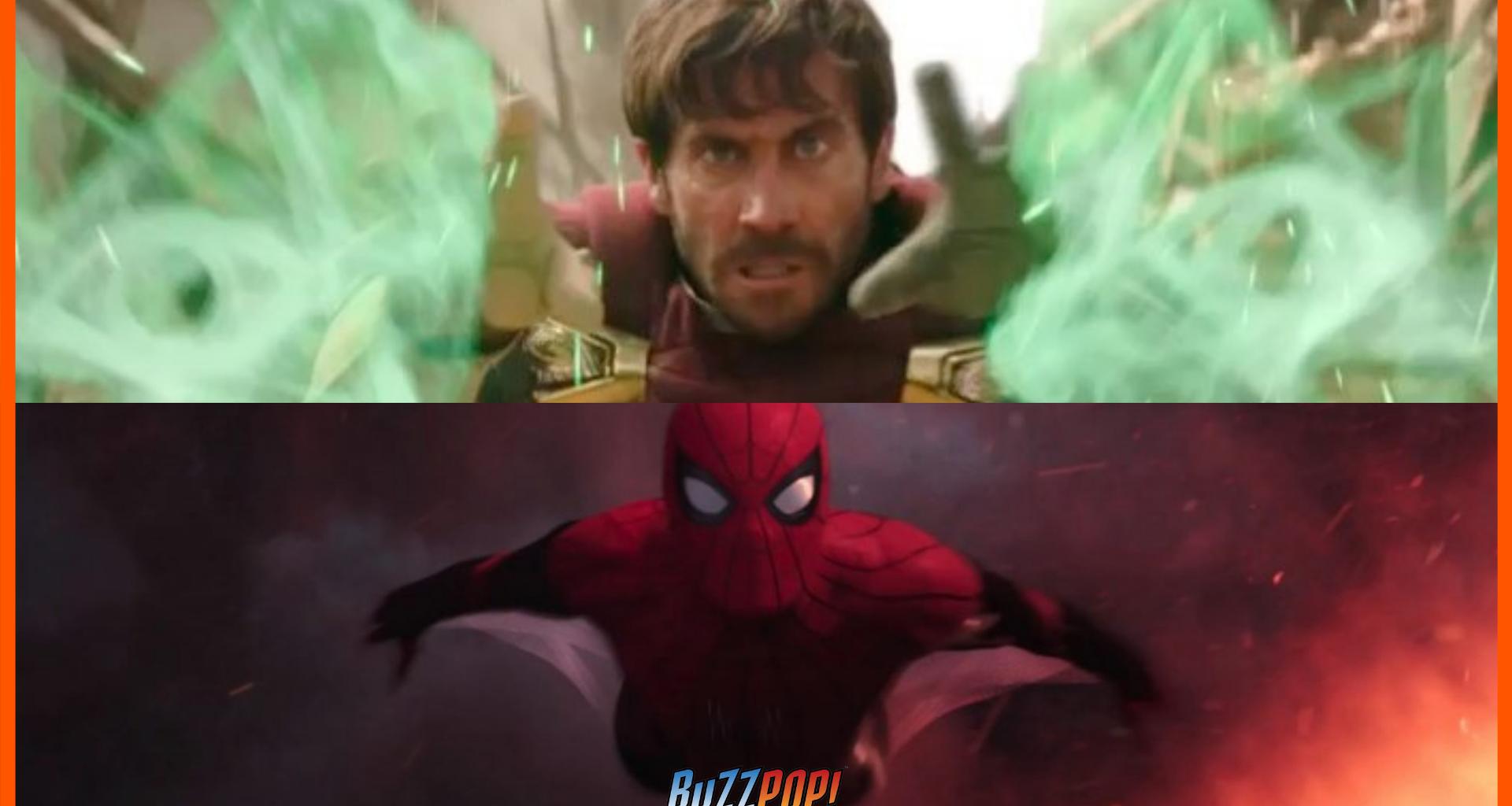 Banner: Jake Gyllenhaal as Mysterio
