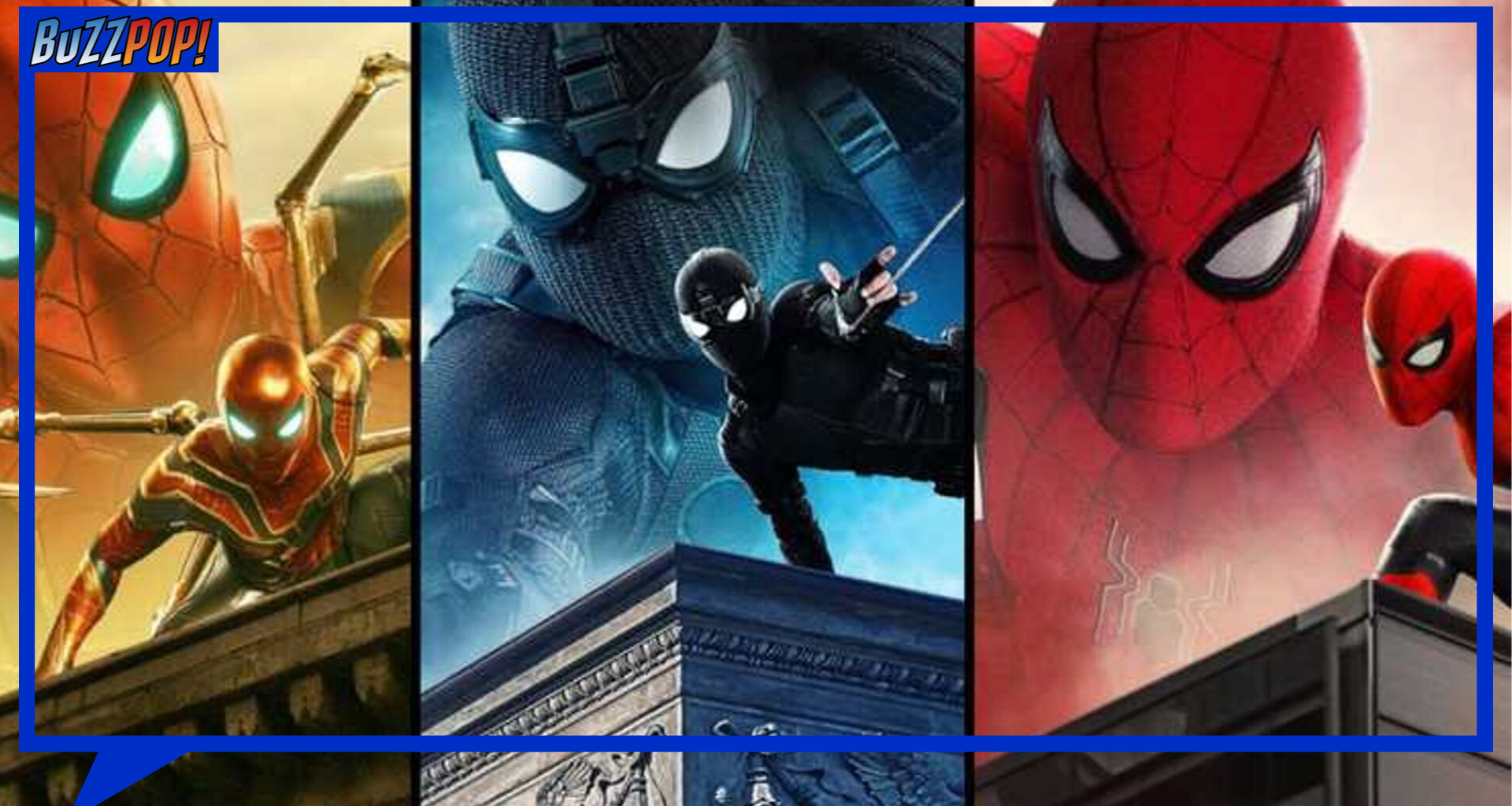 Spider-Man: FAr From Home banner
