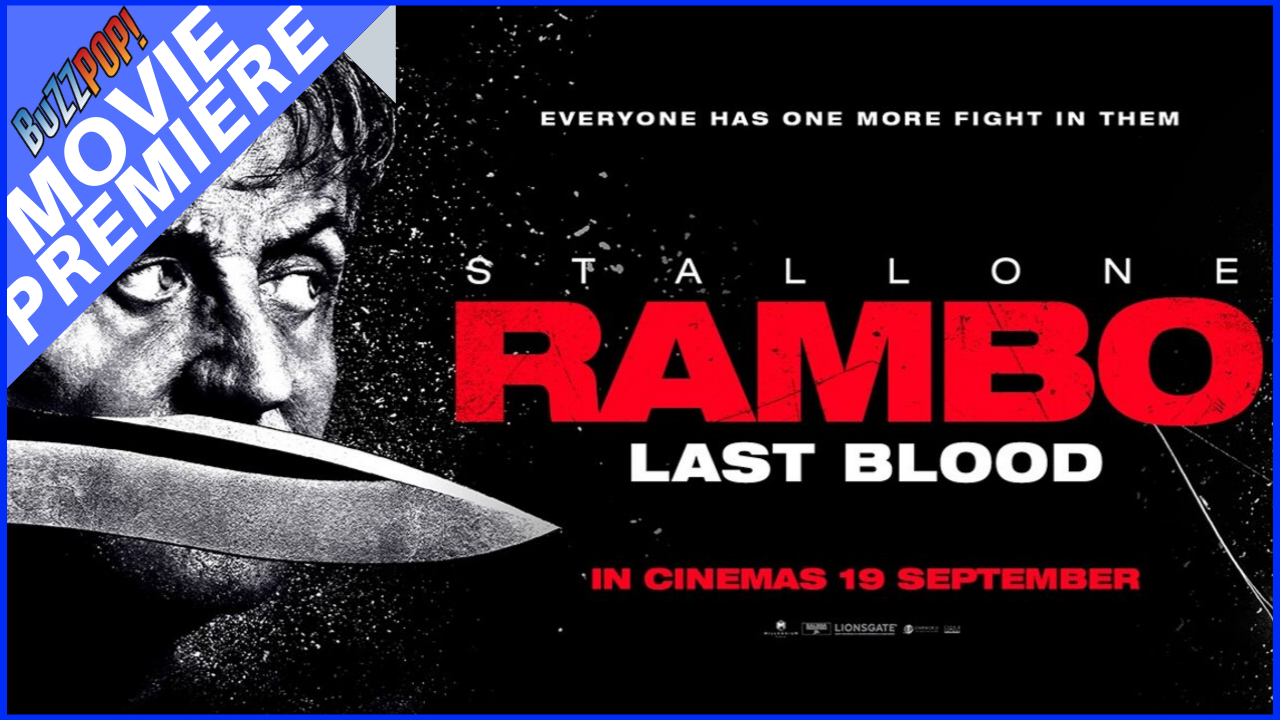 Banner Tayangan Perdana RAMBO: LAST BLOOD