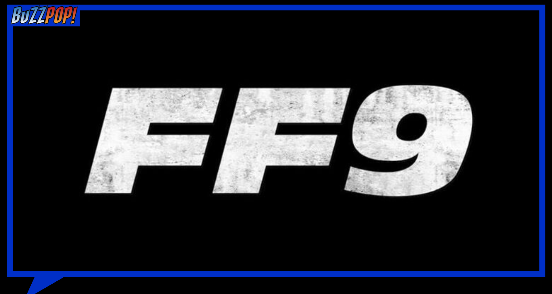Banner FAST & FURIOUS 9