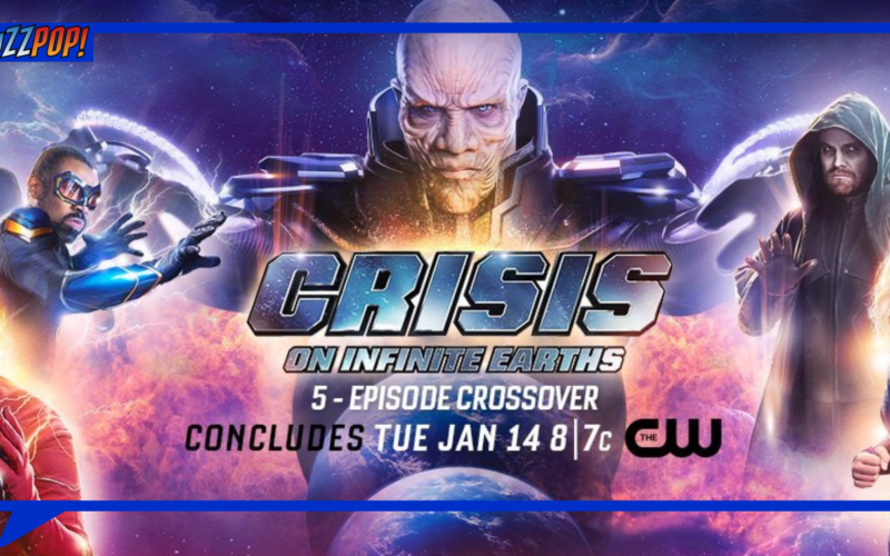 Banner Poster CRISIS ON INFINITE EARTHS Finale