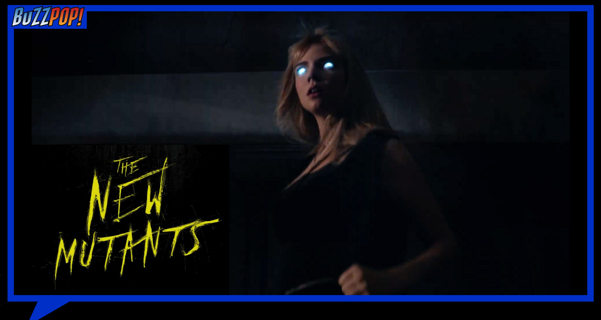 Banner Poster THE NEW MUTANTS