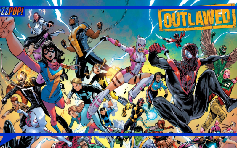 Poster Komik OUTLAWED Marvel Comics