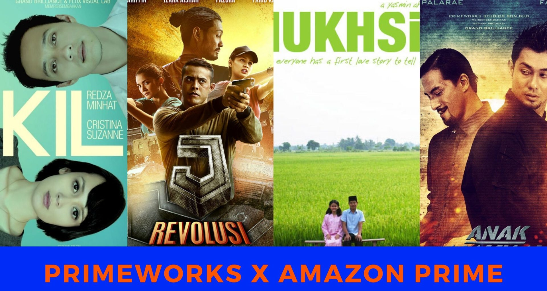 Primeworks Distribution x Amazon Prime Video collabo