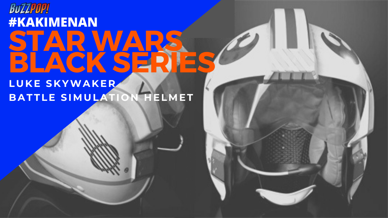 #KakiMenan Star Wars Black Series Luke Skywalker Battle Simulation Helmet
