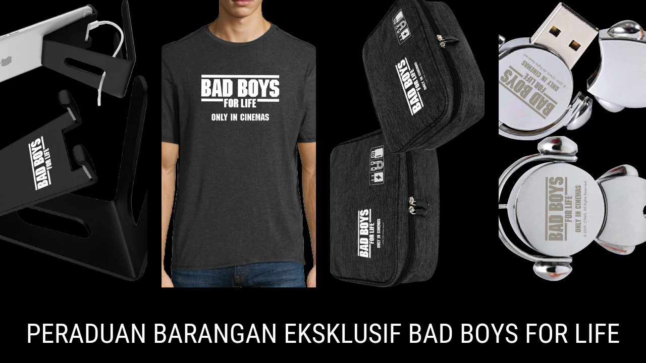 BAD BOYS FOR LIFE Contest Banner