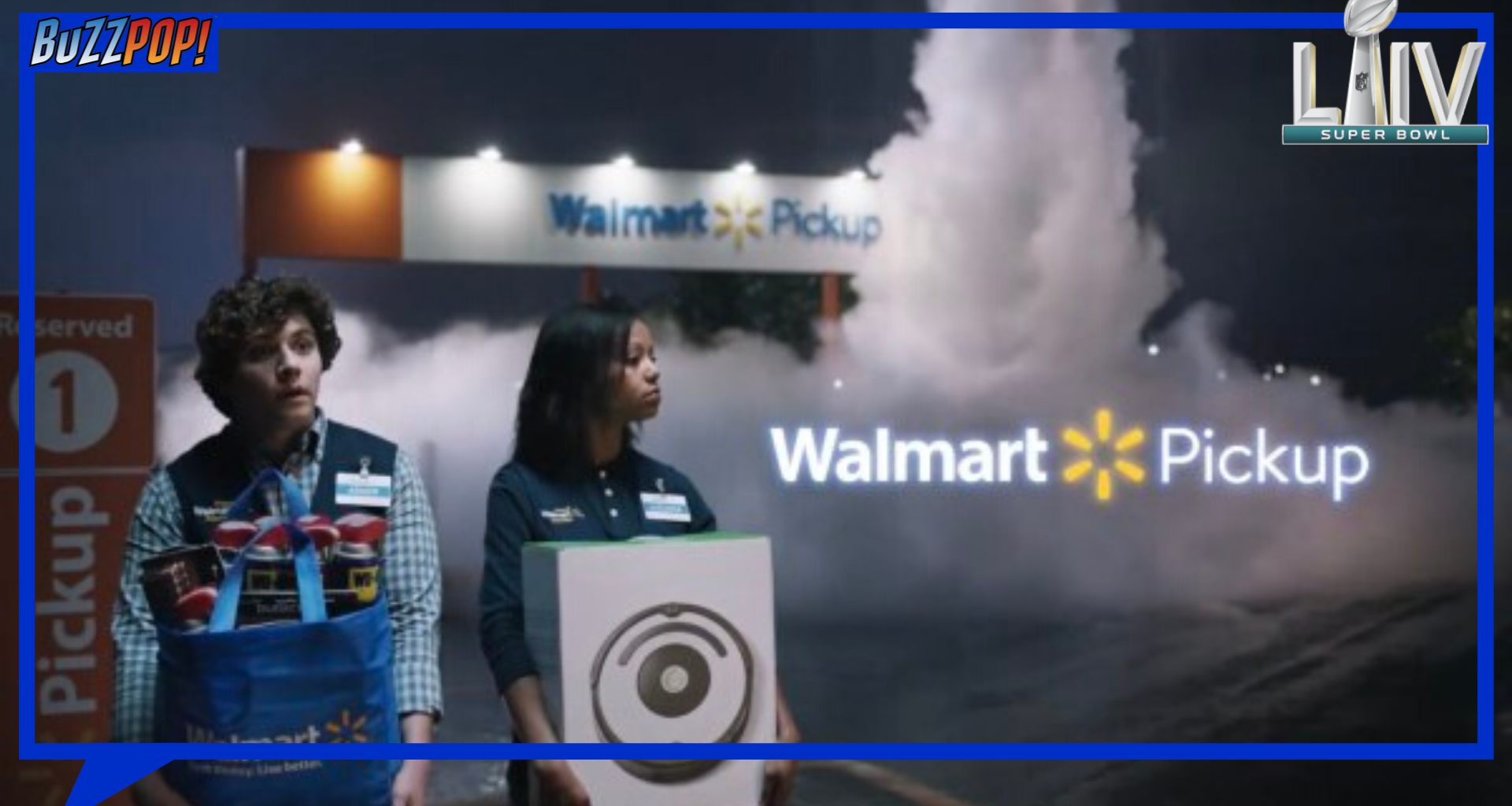 Super Bowl 2020 Walmart advertisement