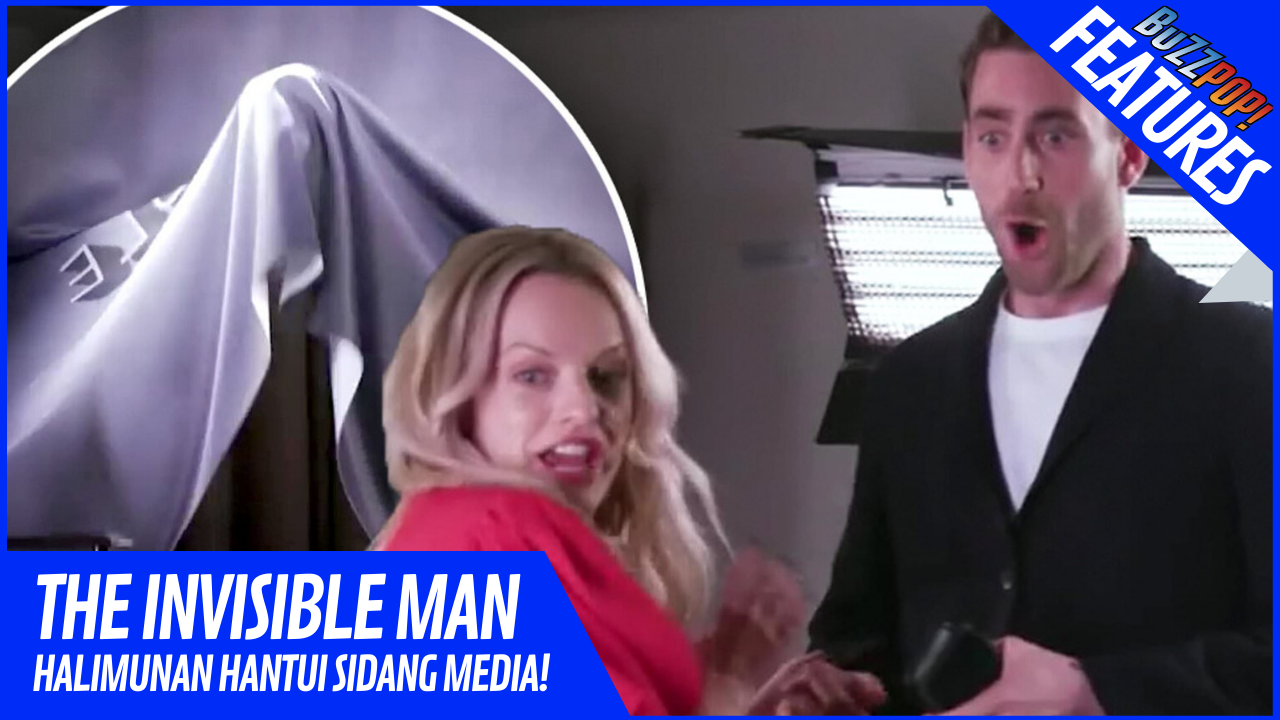 Features THE INVISIBLE MAN Interview Prank