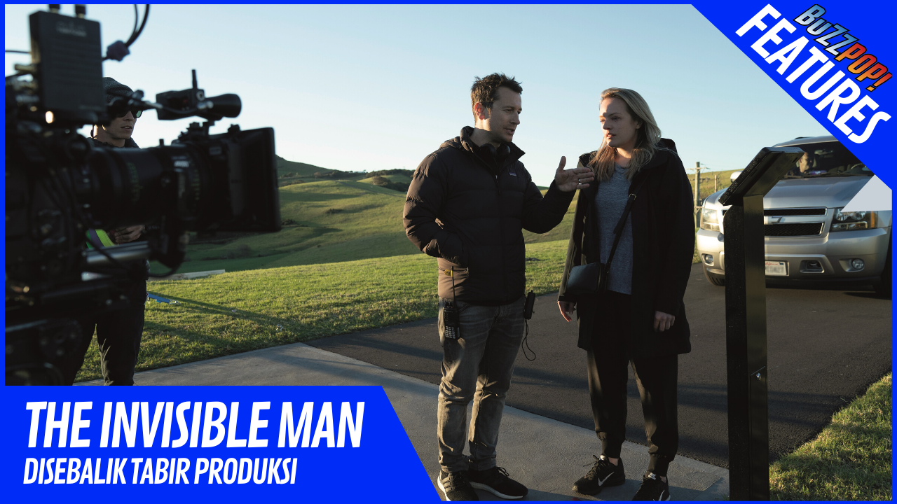 Features THE INVISIBLE MAN Behind The Scenes
