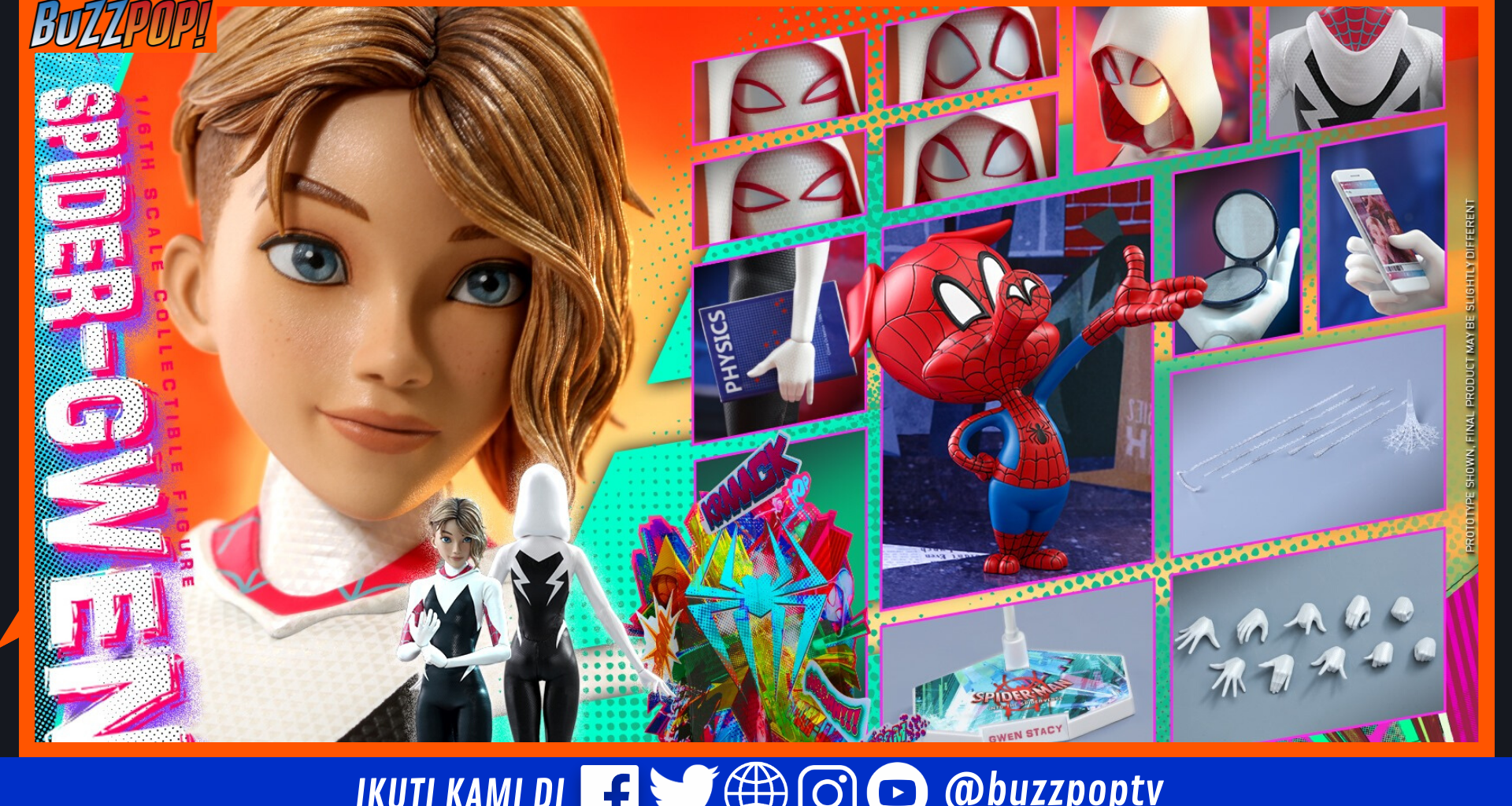 Spider-Gwen Hot Toys Preview
