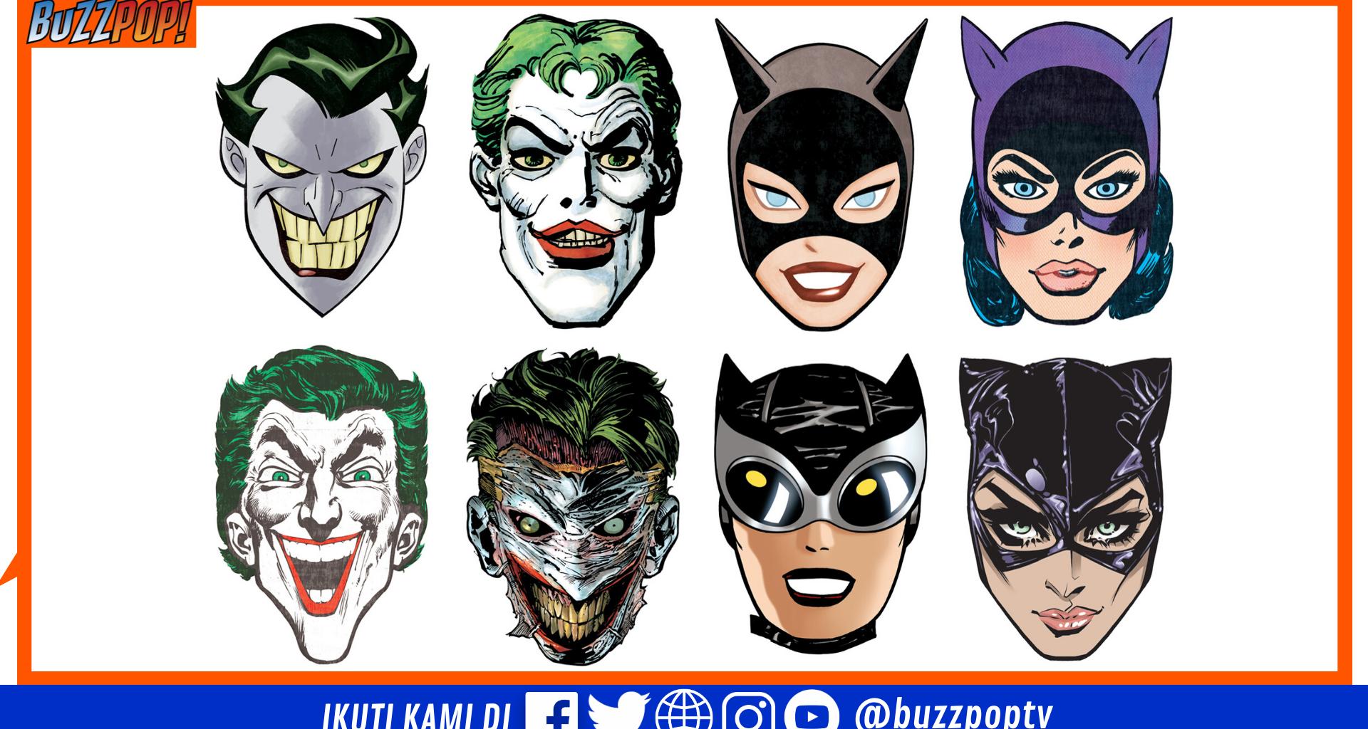 Joker Catwoman 80th Anniversary