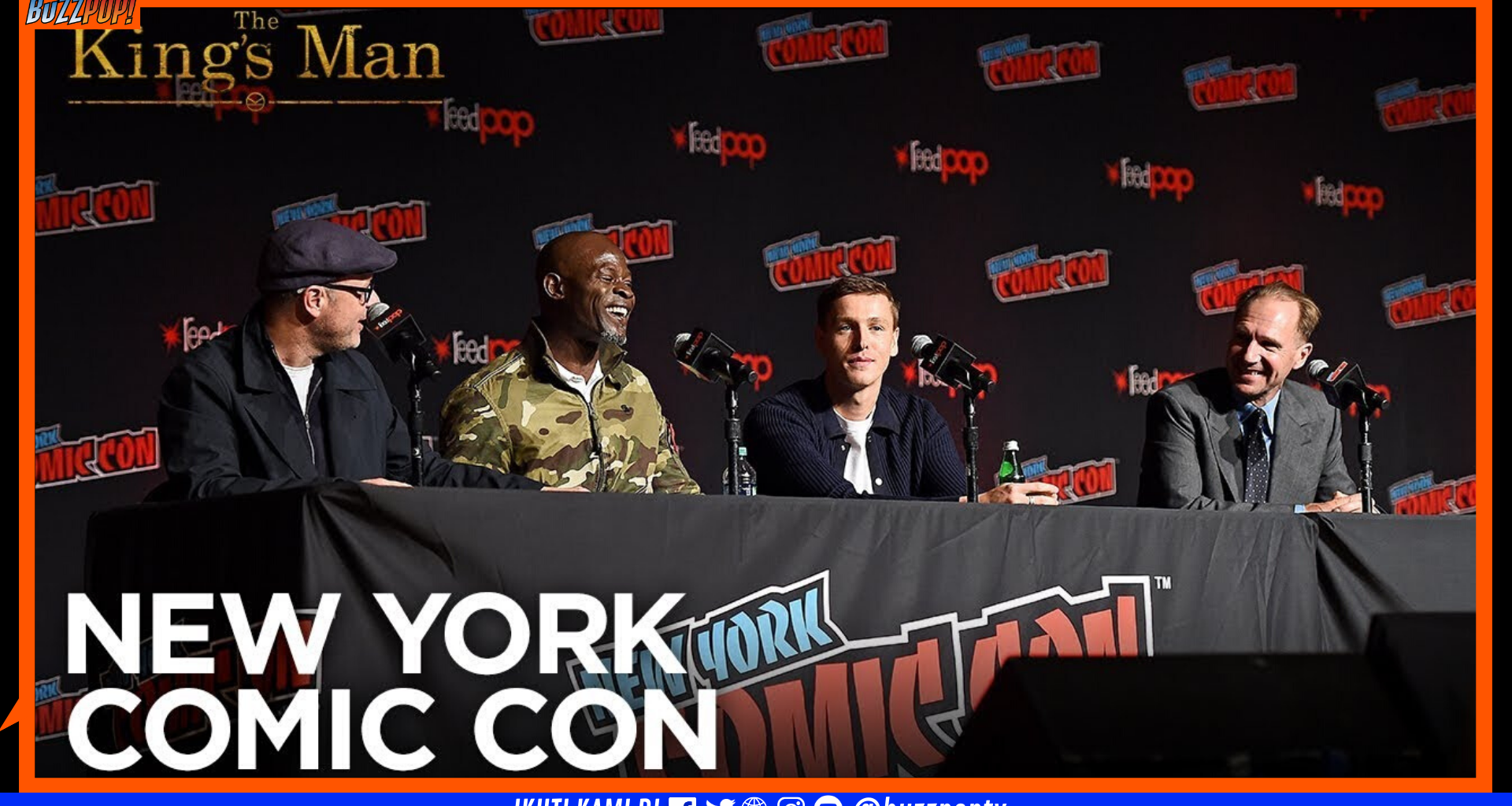 NYCC2019 - THE KING'S MAN Panel
