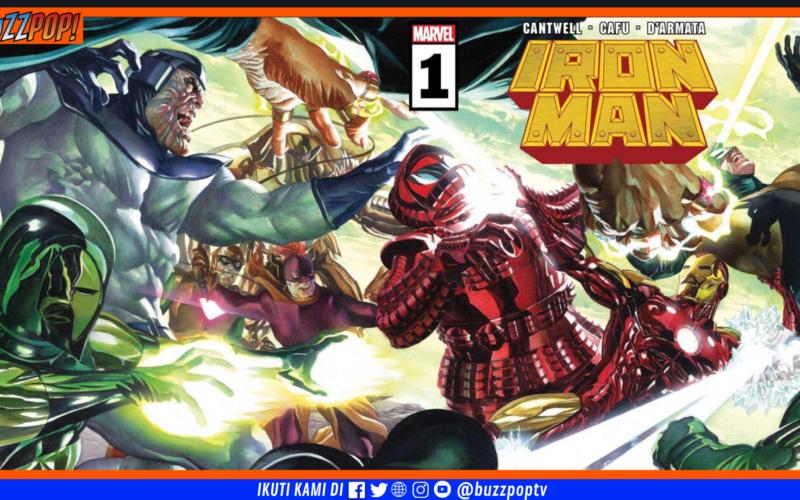 IRON MAN #1 September 2020 Tony Stark returns to Marvel Comics