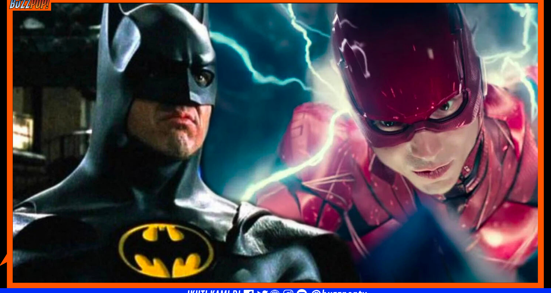 Michael Keaton The Flash (2022)