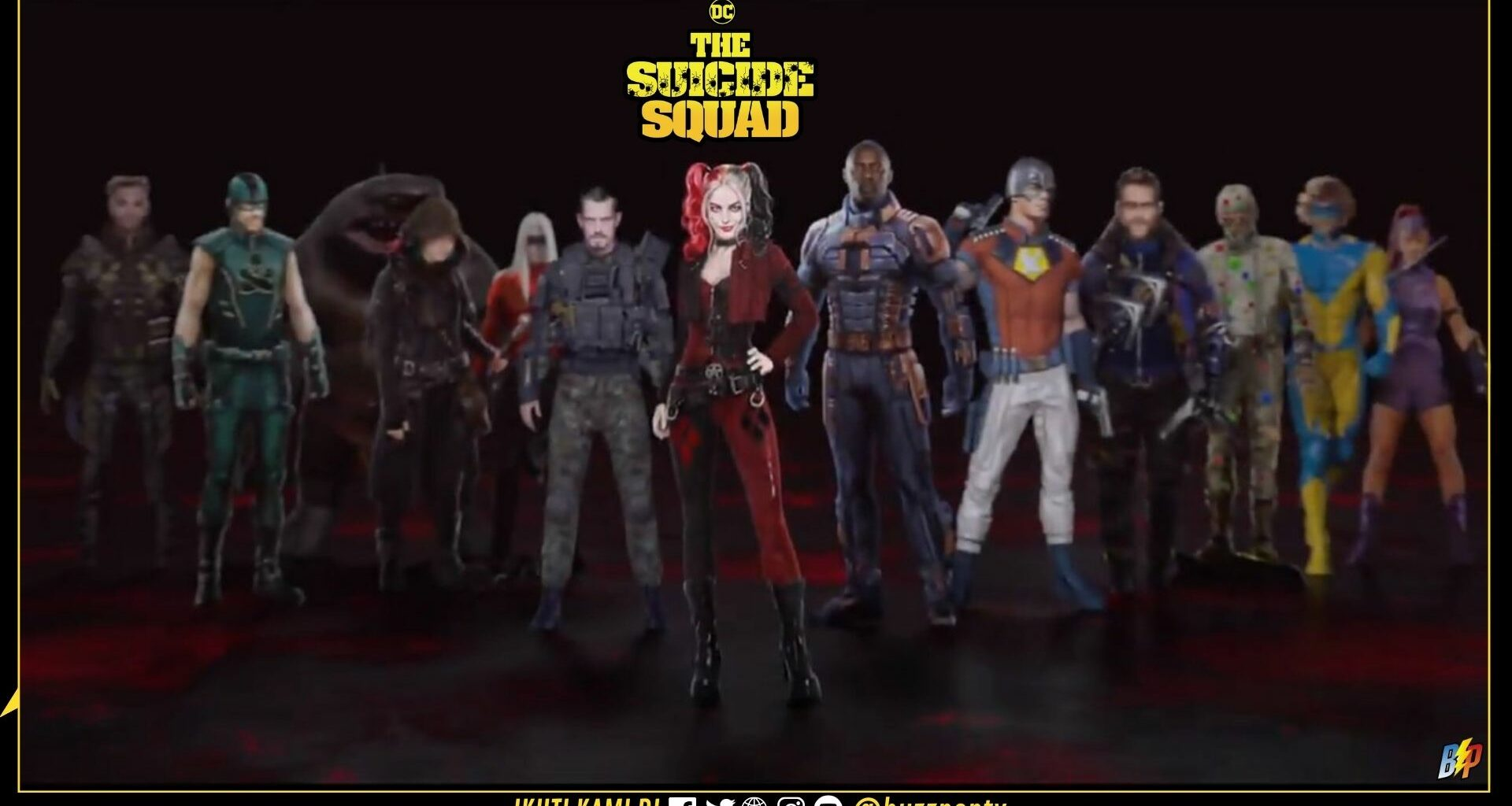 The Suicide Squad (2021) banner