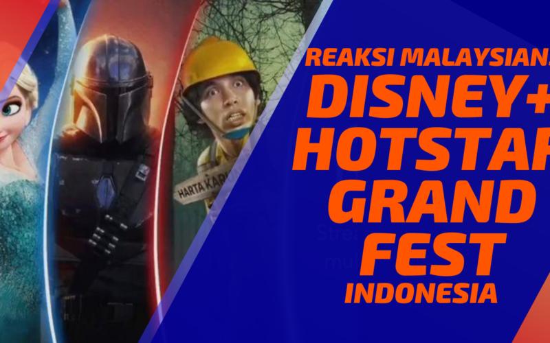 Malaysians React To Disney Plus Hotstar GrandFest Indonesia