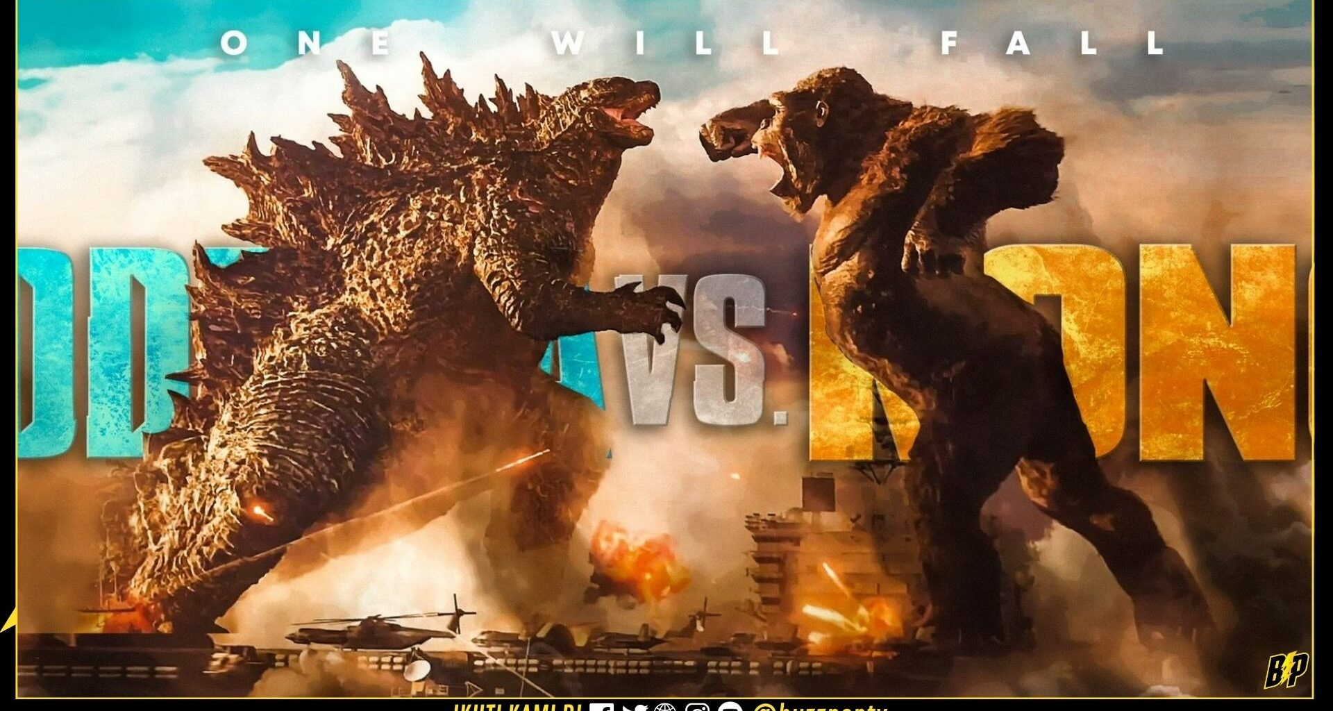 Godzilla Vs Kong banner header