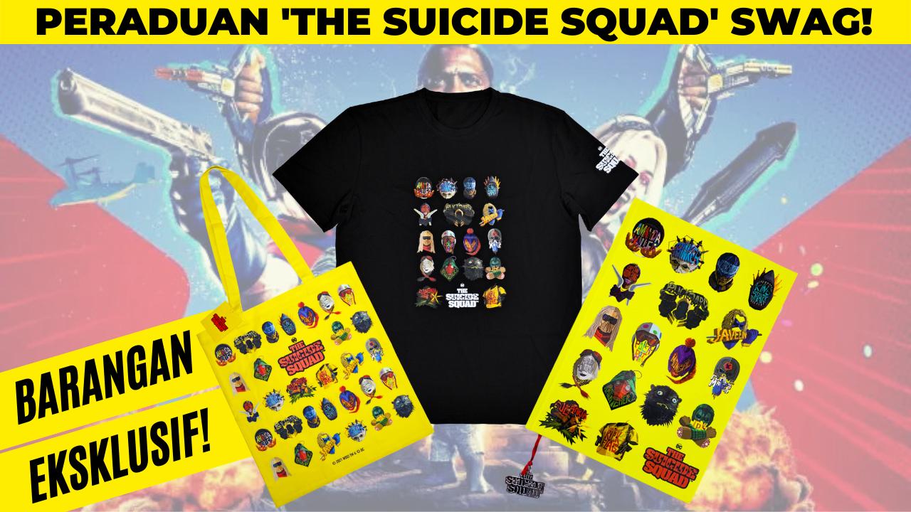 The Suicide Squad Swag Contest